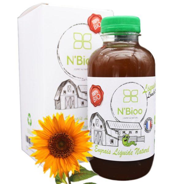 Engrais liquide N'Bioo naturel et bio