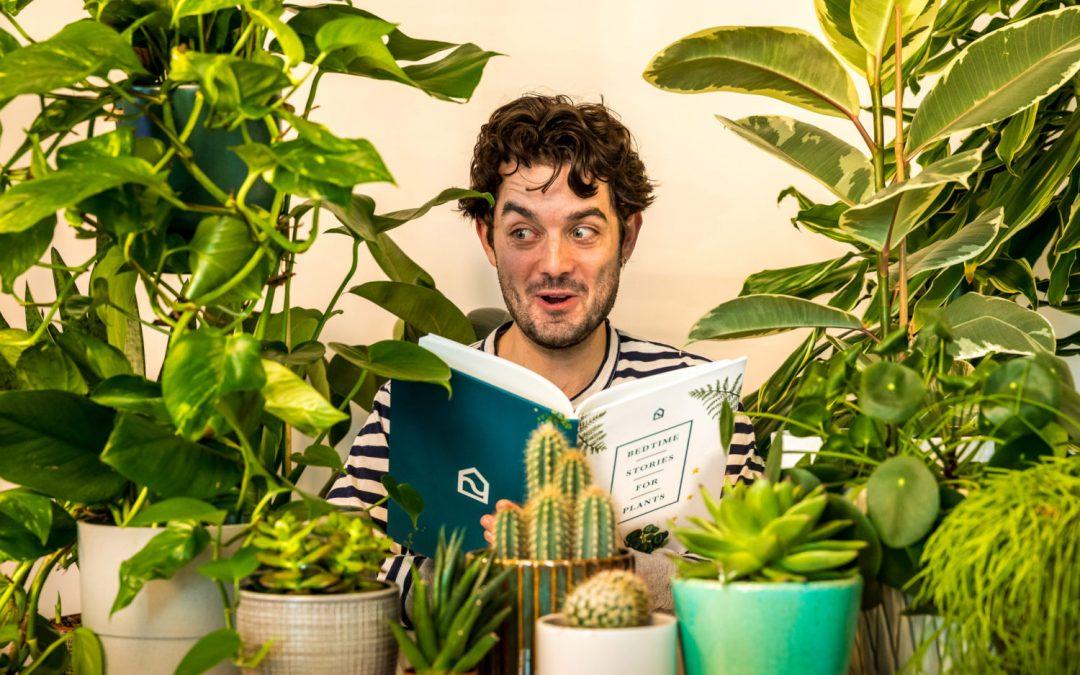 parler à ses plantes vertes